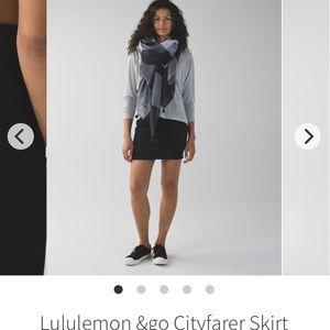 Lululemon &go Cityfarer Skirt